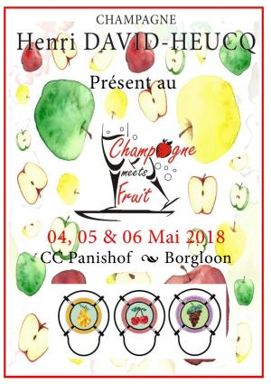 MEETS FRUIT - Belgique - 04 au 06 Mai