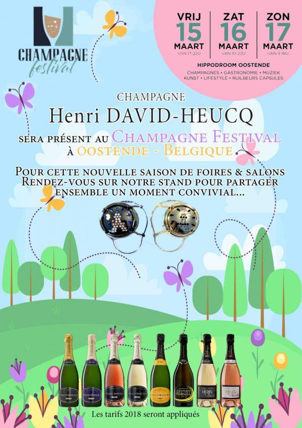 CHAMPAGNE FESTIVAL - OOSTENDE - 15, 16 & 17 Mars